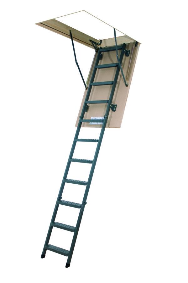 Складная металическая лестница Fakro LMS