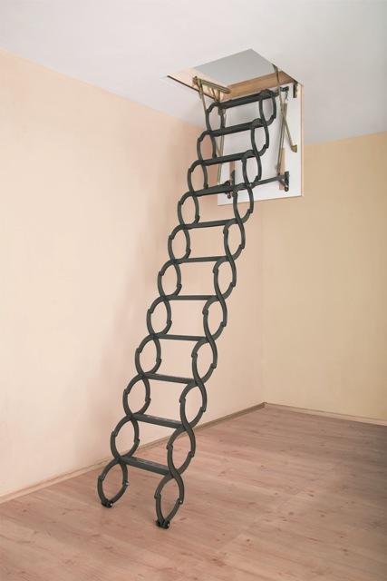 Металическая термоизоляционная Лестница Fakro LST