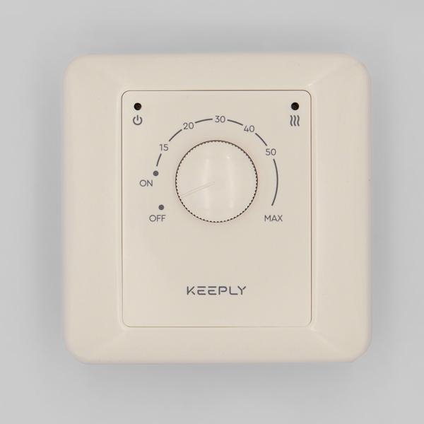 """Терморегулятор """"KEEPLY 10.10E"""" (бежевый)"""
