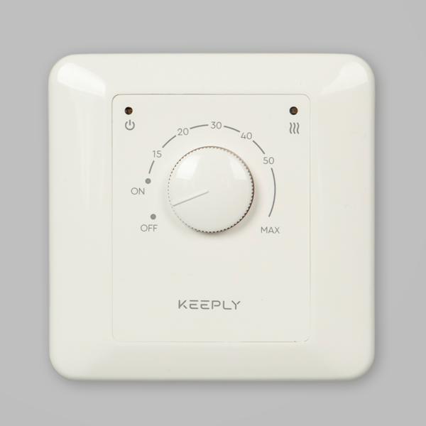 Терморегулятор KEEPLY 10.10E (белый)
