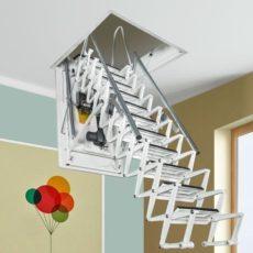 "Чердачная лестница с электроприводом ""Fantozzi Scale Motor"""